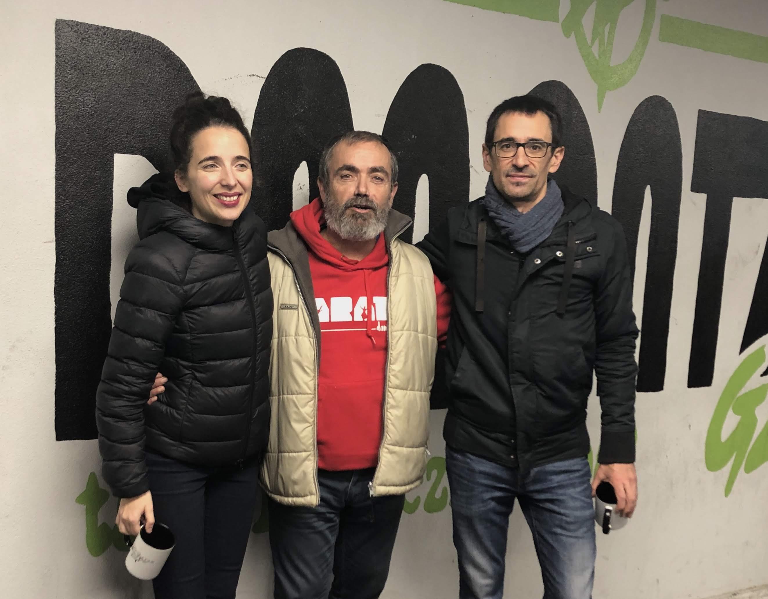 Miren-Amuriza-Igor-Elorza-Gabi de la Maza