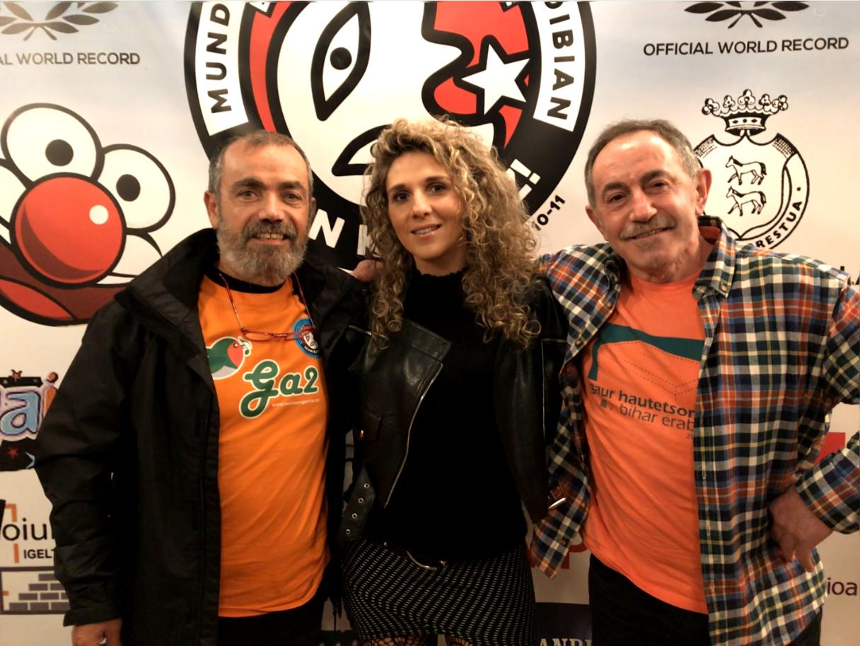 Xabier Saldias-Idoia-Gabi de la Maza